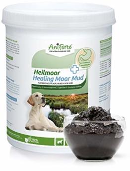 AniForte Heilmoor für Hunde 1200g - Verbessert die Kotbeschaffenheit, Verdauung, Immunsystem, Magen-Darm-Aktivität, Anregung Appetit - Natürliche Heilerde mit hoher Akzeptanz - 1