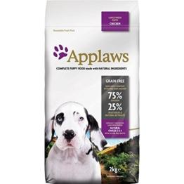 Applaws Hund Trockenfutter Large Breed Puppy Huhn, 1er Pack (1 x 2 kg) - 1