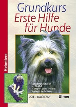 Grundkurs Erste Hilfe für den Hund (Heimtiere) (Grosse Heimtiere) - 1