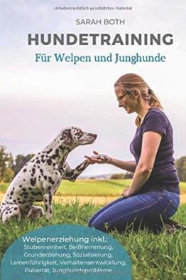 Hundetraining für Welpen und Junghunde: Welpenerziehung inkl. Stubenreinheit, Beißhemmung, Grunderziehung, Sozialisierung, Leinenführigkeit, Verhaltensentwicklung, Pubertät, Junghundeprobleme - 1
