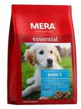 MERA essential Hundefutter Junior 1, Trockenfutter für Welpen, junge und wachsende Hunde mit einer Rezeptur ohne Weizen, 1er Pack (1 x 12.5 kg) - 1