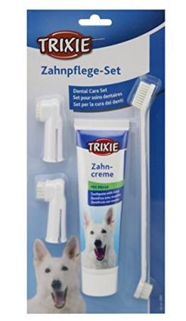 Trixie 2561 Zahnpflege-Set, Hund - 1