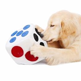 ubest Schnüffelwürfel für Hunde, Hund Riechen Trainieren Spielzeug für Hunde, Schadstofffreies Hundespielzeug Fördert Natürliche Nahrungssuche, wie Schnüffelteppich - 1
