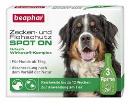Zecken- und Flohschutz SPOT ON für Hunde über 15 kg - 1